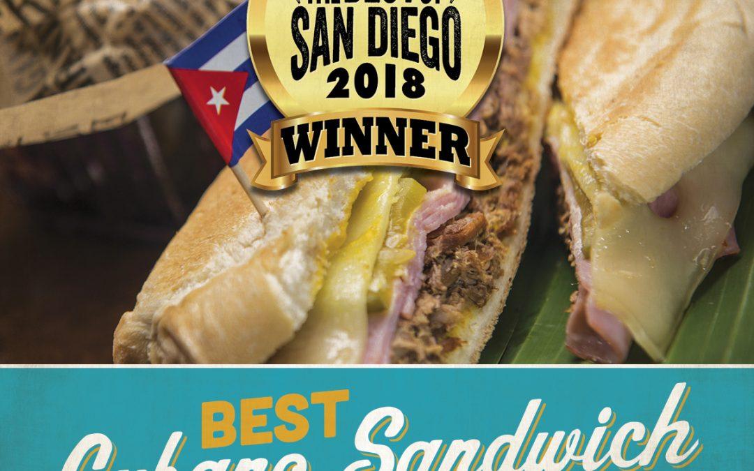 San Diego's Best Cubano Sandwich!